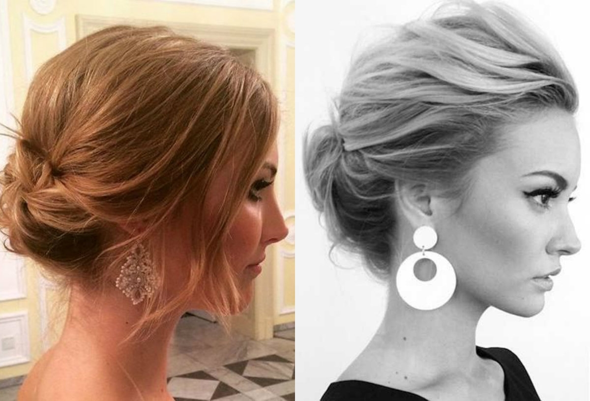 Cute Short Hair Updo Hairstyles You Can Style Today | Hairdrome Pertaining To New Updo Hairstyles (View 9 of 15)