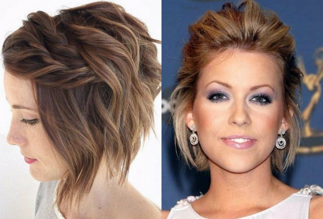 Cute Short Hairstyles Updos In Cute Short Hair Updos (View 13 of 15)