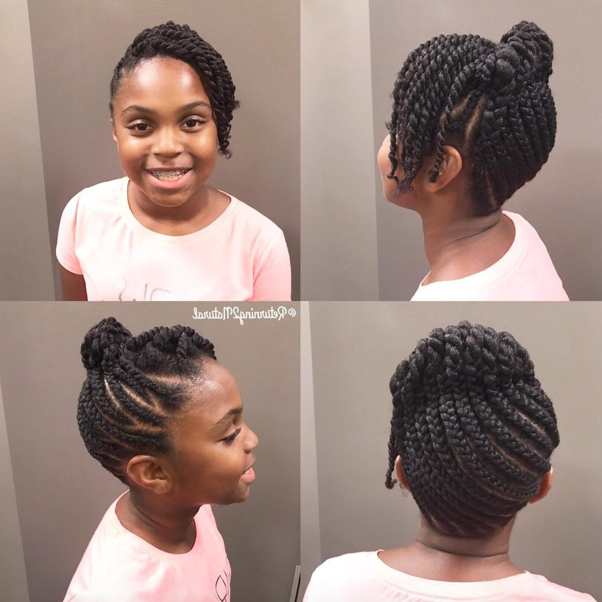 Cute Updo Via @returning2natural – Https://blackhairinformation Intended For Hype Updo Hairstyles (View 2 of 15)