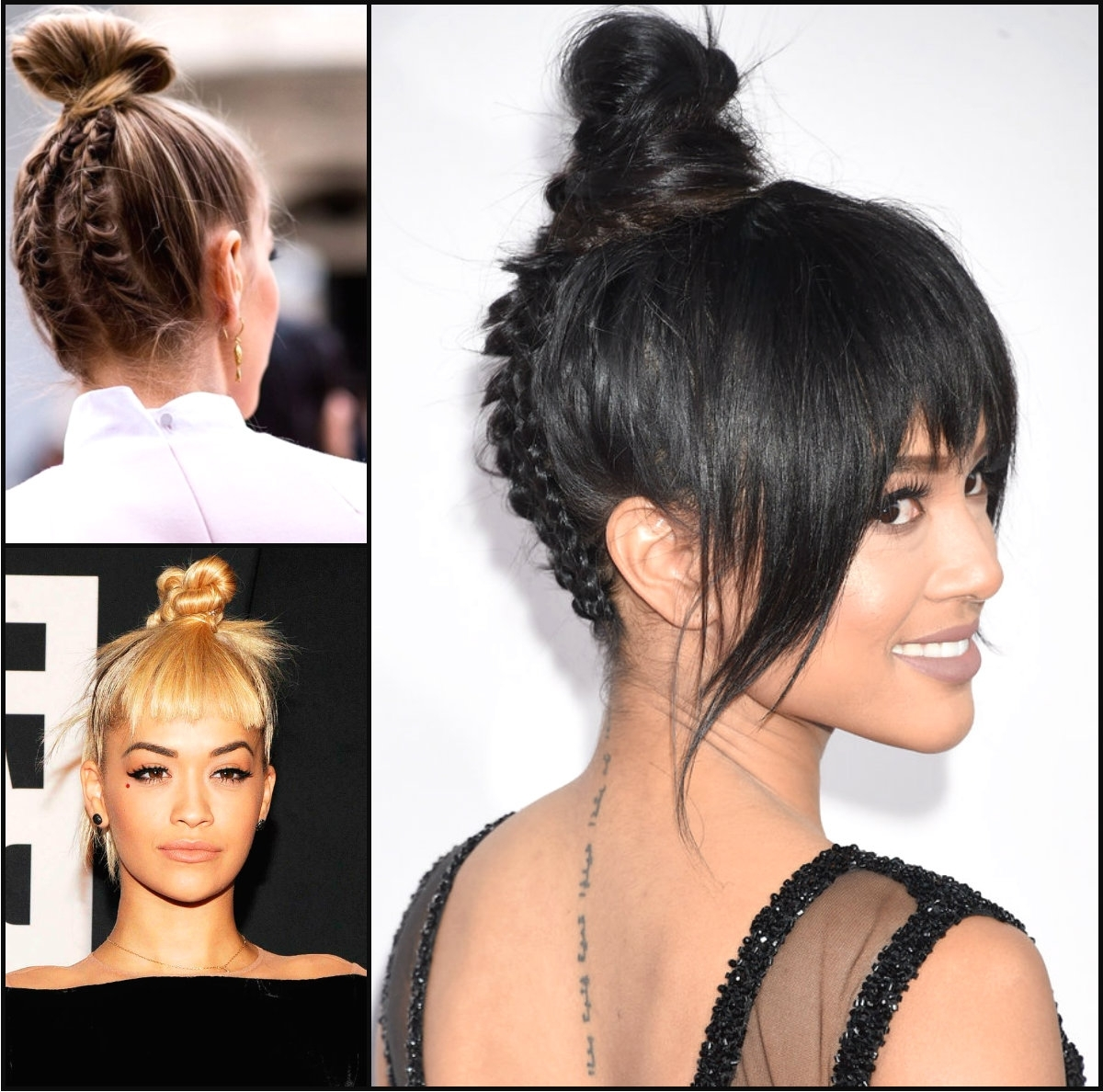 Cutest Top Knots 2016 Summer | Hairstyles 2017, Hair Colors And Haircuts Within Knot Updo Hairstyles (View 12 of 15)