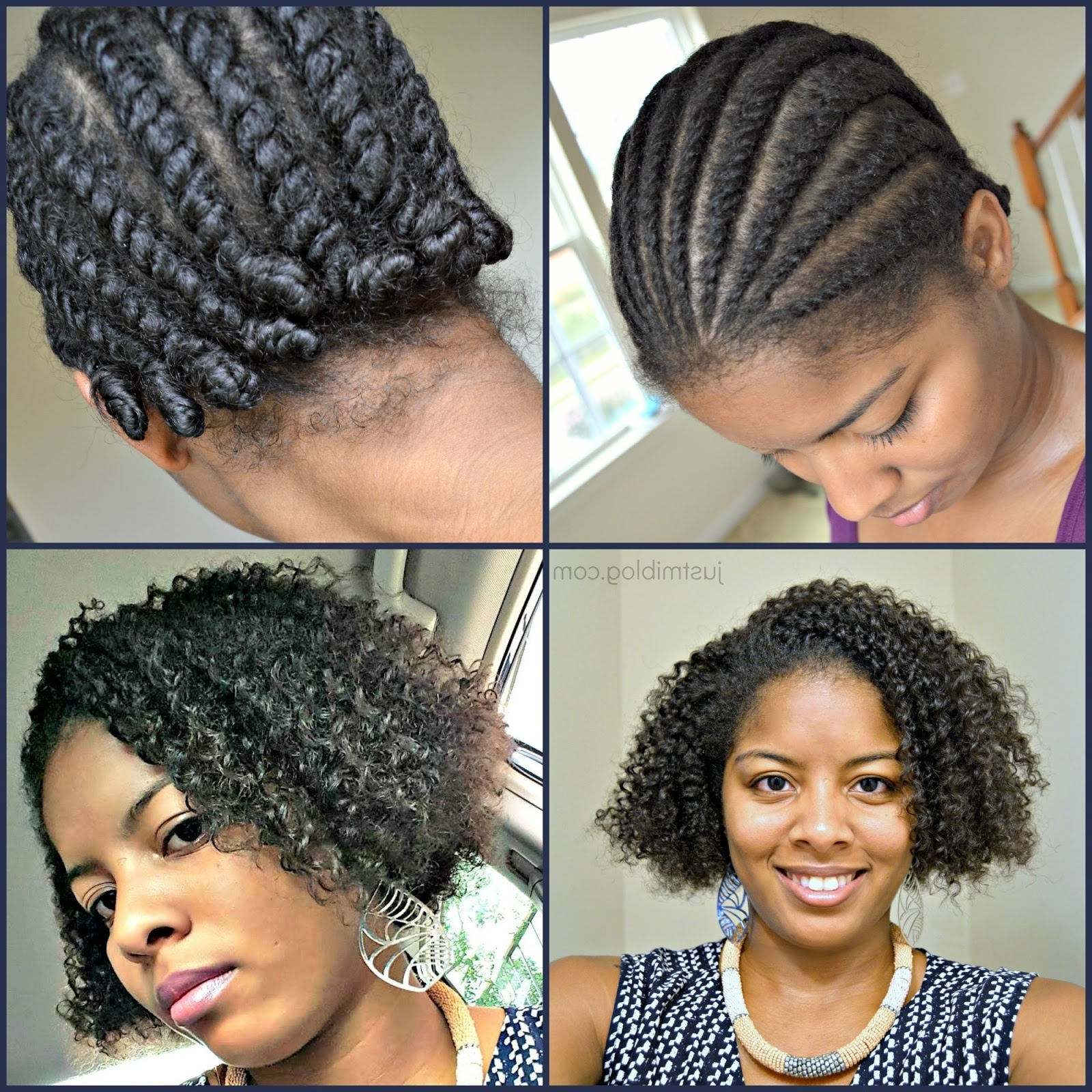 Dmv Natural Salon Experience | Just Mi! Inside Knot Twist Updo Hairstyles (View 8 of 15)