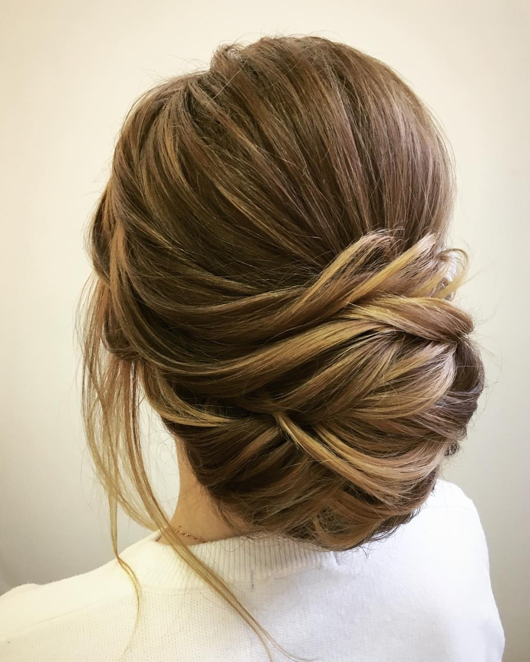 Easy And Pretty Chignon Buns Hairstyles You'll Love To Try For Chignon Updo Hairstyles (View 10 of 15)