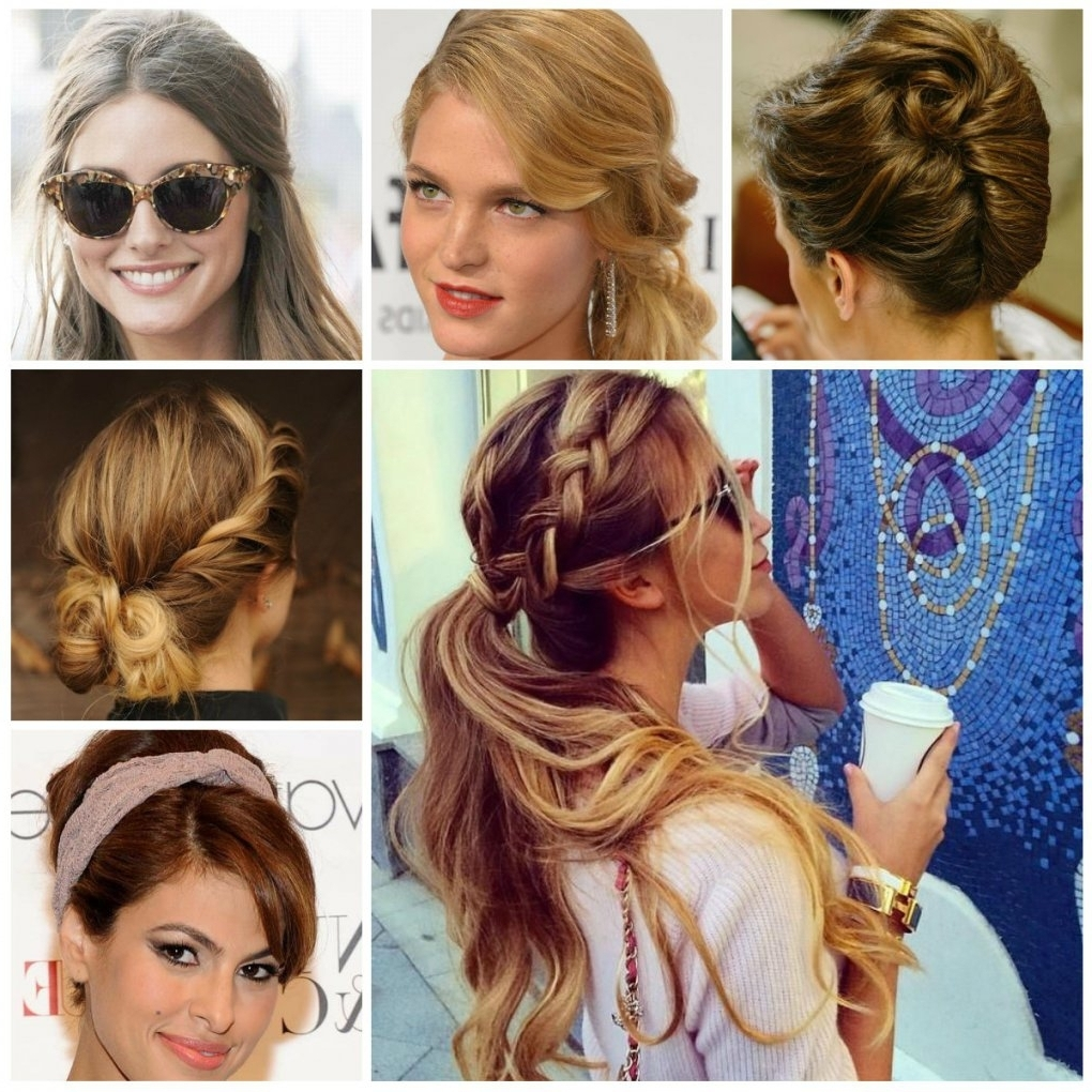 Easy Casual Updo Hairstyles For Long Hair – Women Medium Haircut For Casual Updo Hairstyles For Long Hair (View 3 of 15)