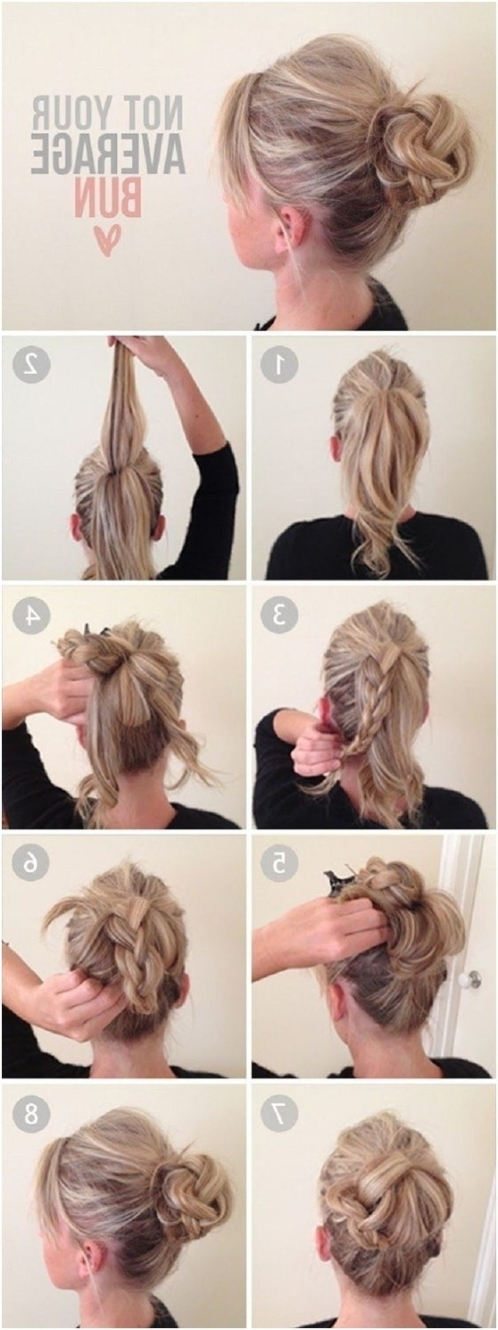 Easy Casual Updo Hairstyles For Long Hair – Women Medium Haircut For Easy Long Hair Updo Everyday Hairstyles (Gallery 11 of 15)
