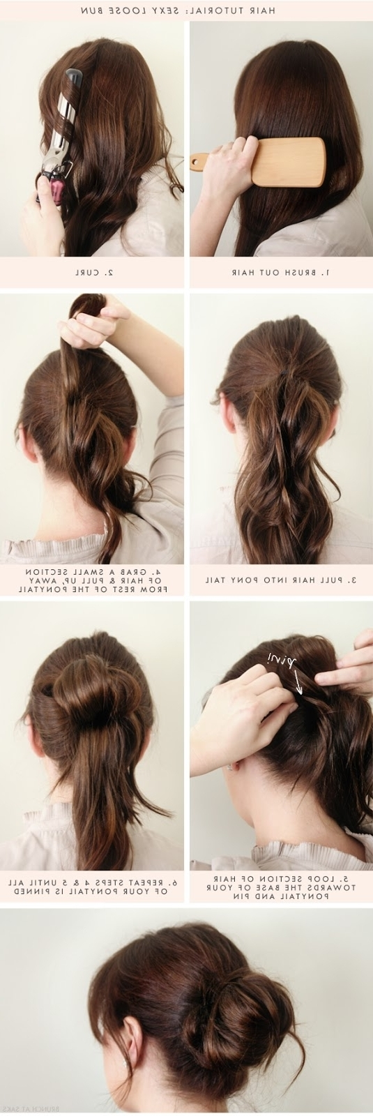 Easy Casual Updo Hairstyles For Long Hair – Women Medium Haircut Regarding Easy Casual Updos For Long Hair (View 7 of 15)