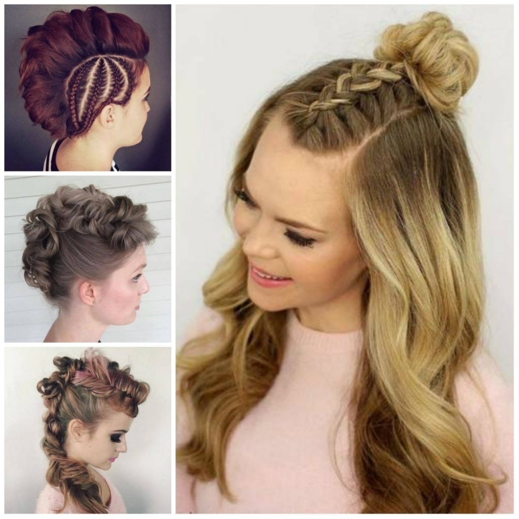 Easy Casual Updostyles For Long Quick Hairstyles Hair Stock Photos Intended For Easy Everyday Updo Hairstyles For Long Hair (View 8 of 15)