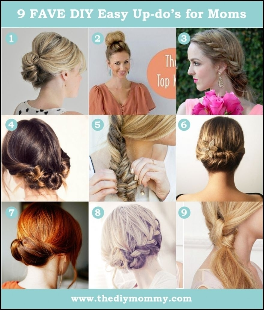 Easy Diy Updo Hairstyles – Beautiful Long Hairstyle #frisuren Regarding Easy Diy Updos For Long Hair (View 6 of 15)
