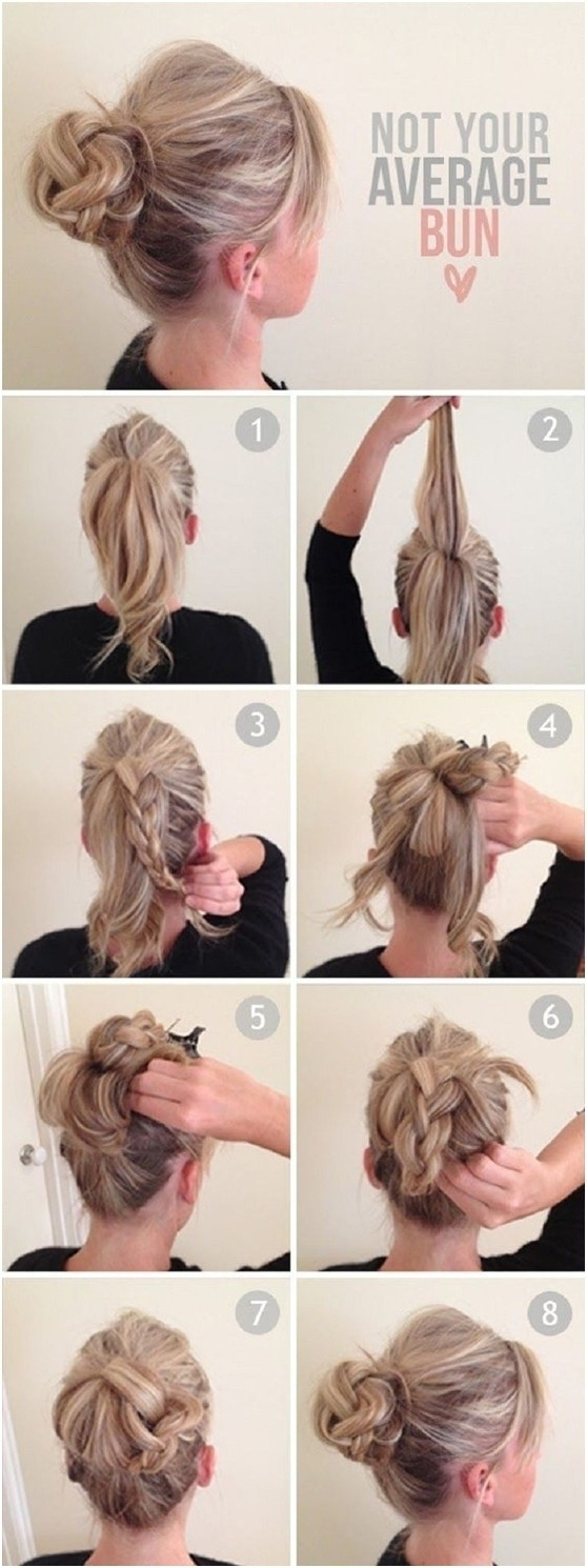 Easy Everyday Updo Hairstyles Easy Casual Updo Hairstyles For Long Throughout Easy Everyday Updo Hairstyles For Long Hair (Gallery 15 of 15)