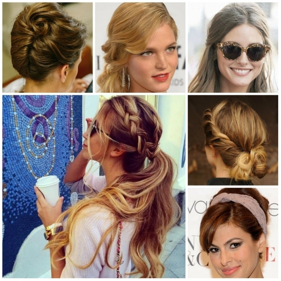 15 Best Collection of Easy Everyday Updo Hairstyles For Long ...