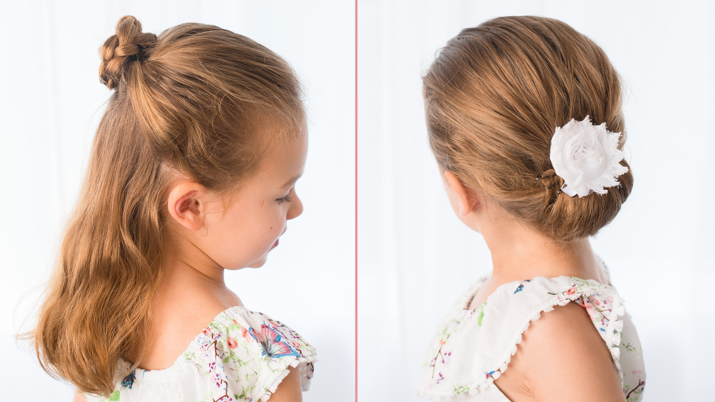 Easy Hairstyles For Girls That You Can Create In Minutes For Children's Updo Hairstyles (View 4 of 15)