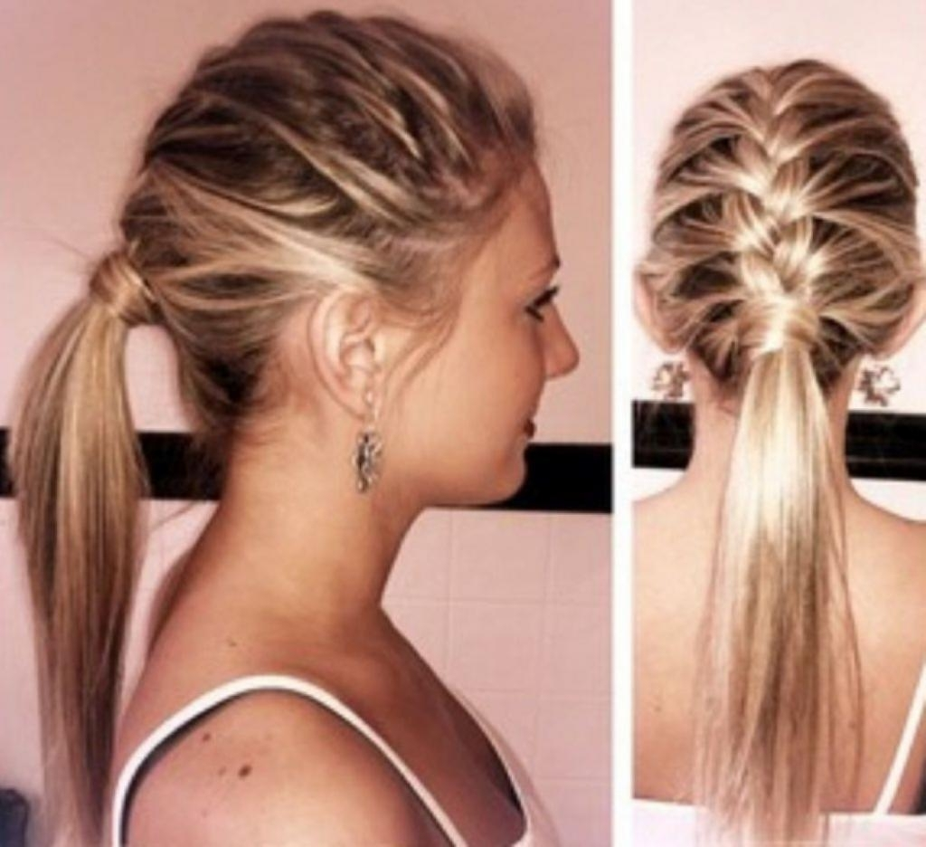 Easy Hairstyles Medium Length Cute Hairstyles For Parties For Medium Pertaining To Easy And Cute Updos For Medium Length Hair (View 8 of 15)