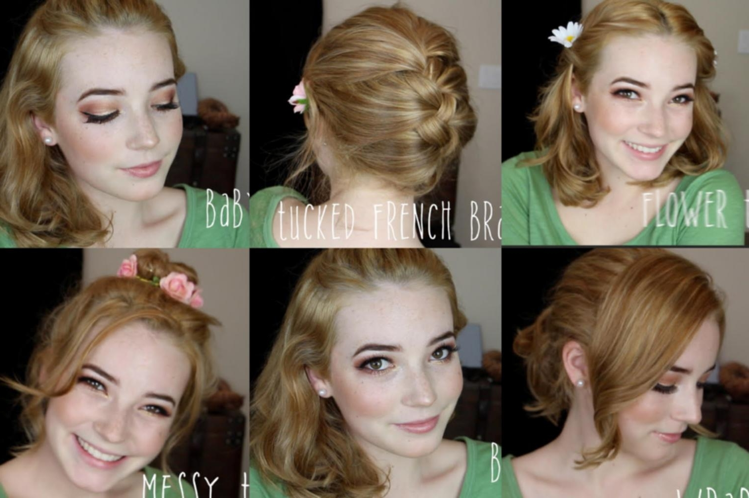 Easy Quick Hairstyles For Medium Length Hair Easy Hairstyles For In Quick Updos For Medium Length Hair (View 5 of 15)