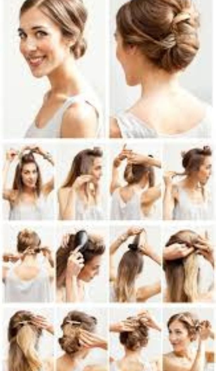 Easy Spring Prom Updos For Shoulder Medium Length Hair No Long Within Cute And Easy Updos For Medium Length Hair (View 9 of 15)