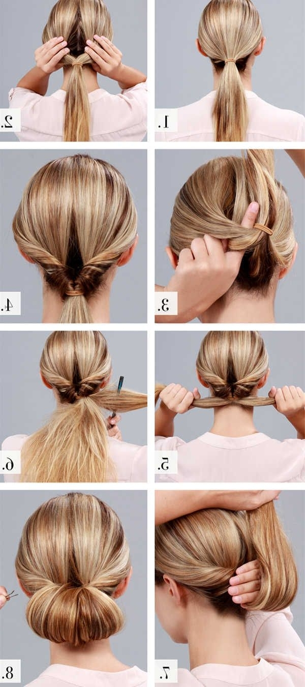 Easy To Do Hairstyles For Long Hair Best Braided Updo Ideas On Pertaining To Easy Hair Updo Hairstyles For Wedding (View 9 of 15)