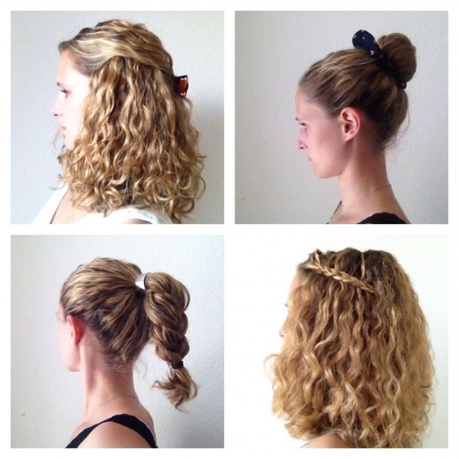 Easy Updo Hairstyles For Curly Hair – Beautiful Long Hairstyle Pertaining To Easy Updos For Long Curly Hair (View 9 of 15)