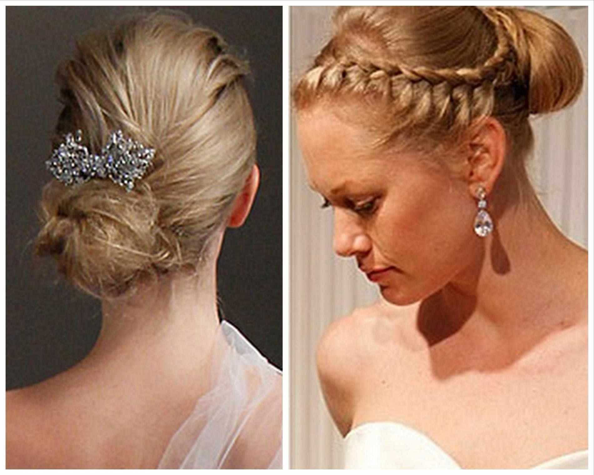 Easy Updo Hairstyles For Medium Length Hair – Short Medium Long For Medium Long Hair Updo Hairstyles (View 5 of 15)