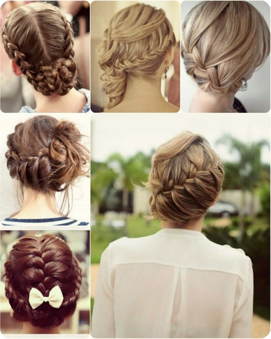 Easy Updo Hairstyles For Work Simple Updos For Long Hair For Work In Easy Updo Hairstyles (Gallery 14 of 15)