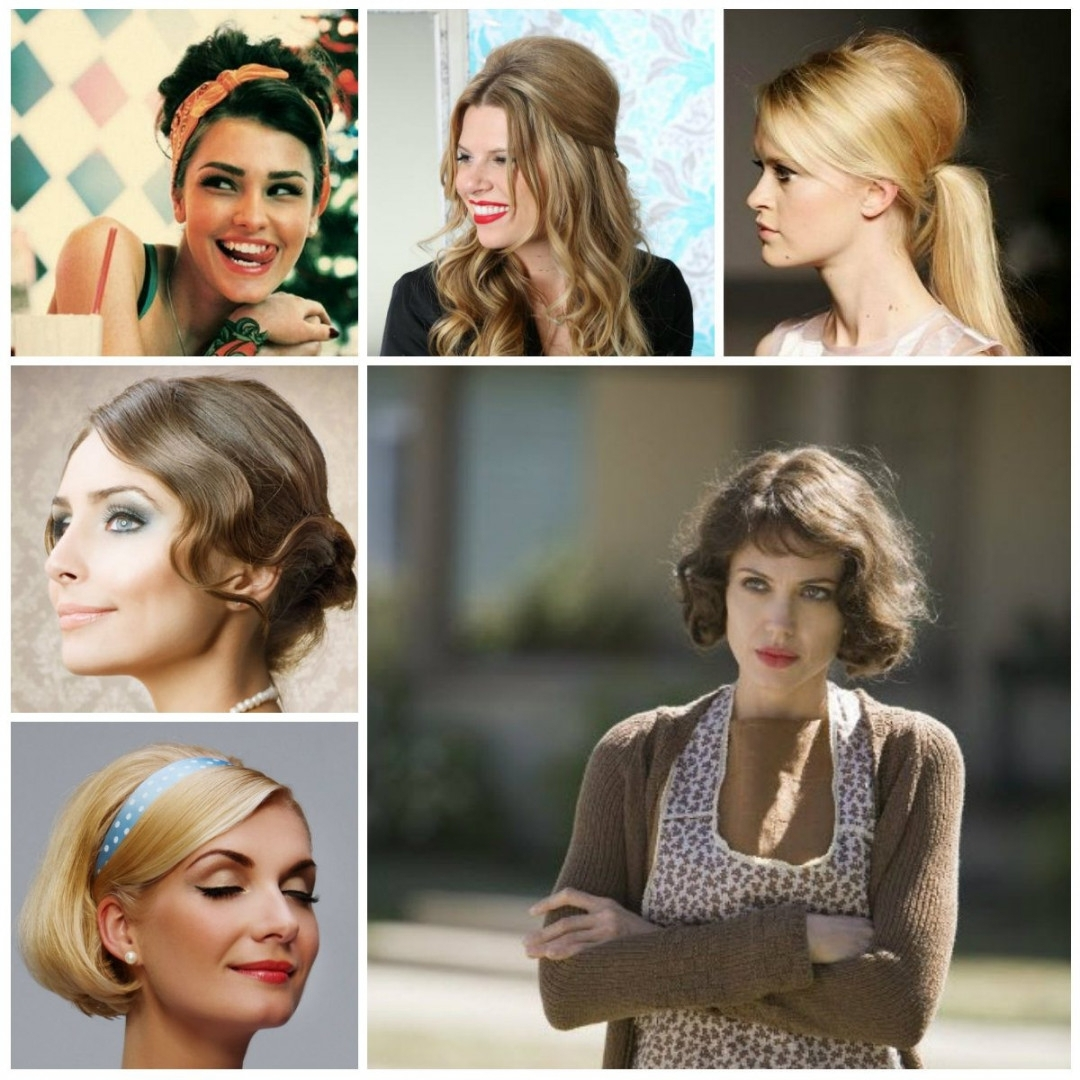 Easy Vintage Hairstyles For Shoulder Length Hair Pertaining To Easy Vintage Updo Hairstyles (View 11 of 15)