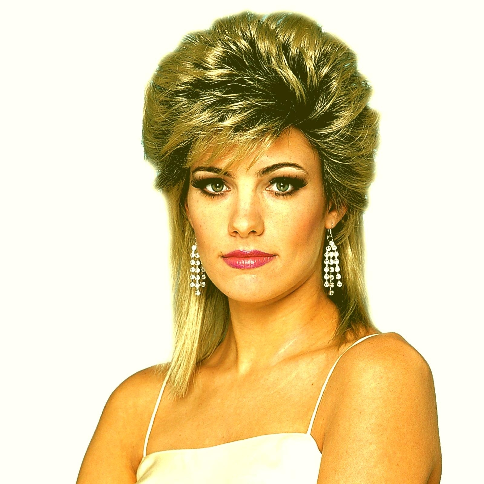 Eighties Prom Hairstyles 80S Hairstyles Medium Length Hair Greatest Intended For 80S Hair Updo Hairstyles (Gallery 5 of 15)