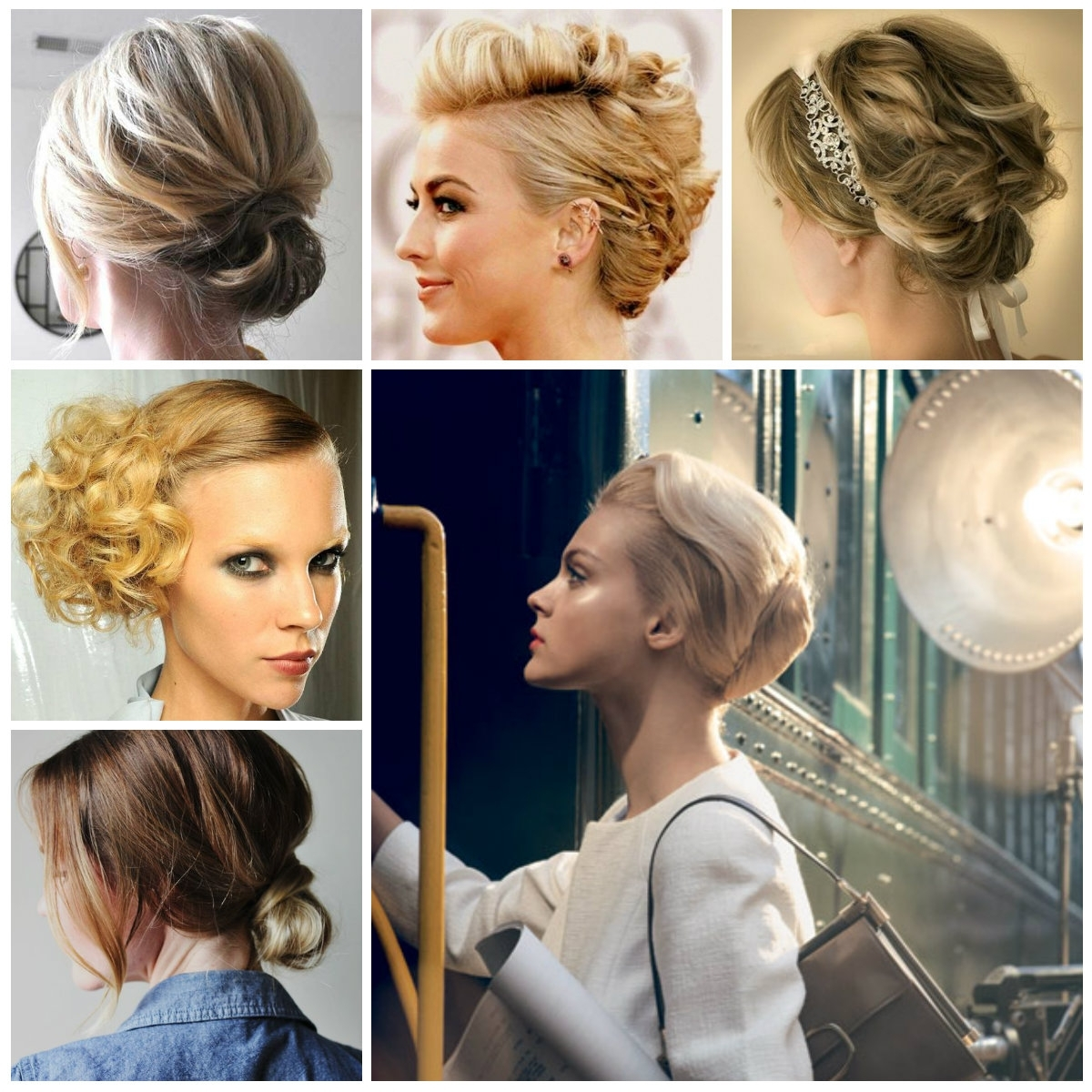 Elegant Hairstyles : Best 3 Elegant Updo Hairstyles For 2017 Inside Elegant Updo Hairstyles For Short Hair (View 7 of 15)