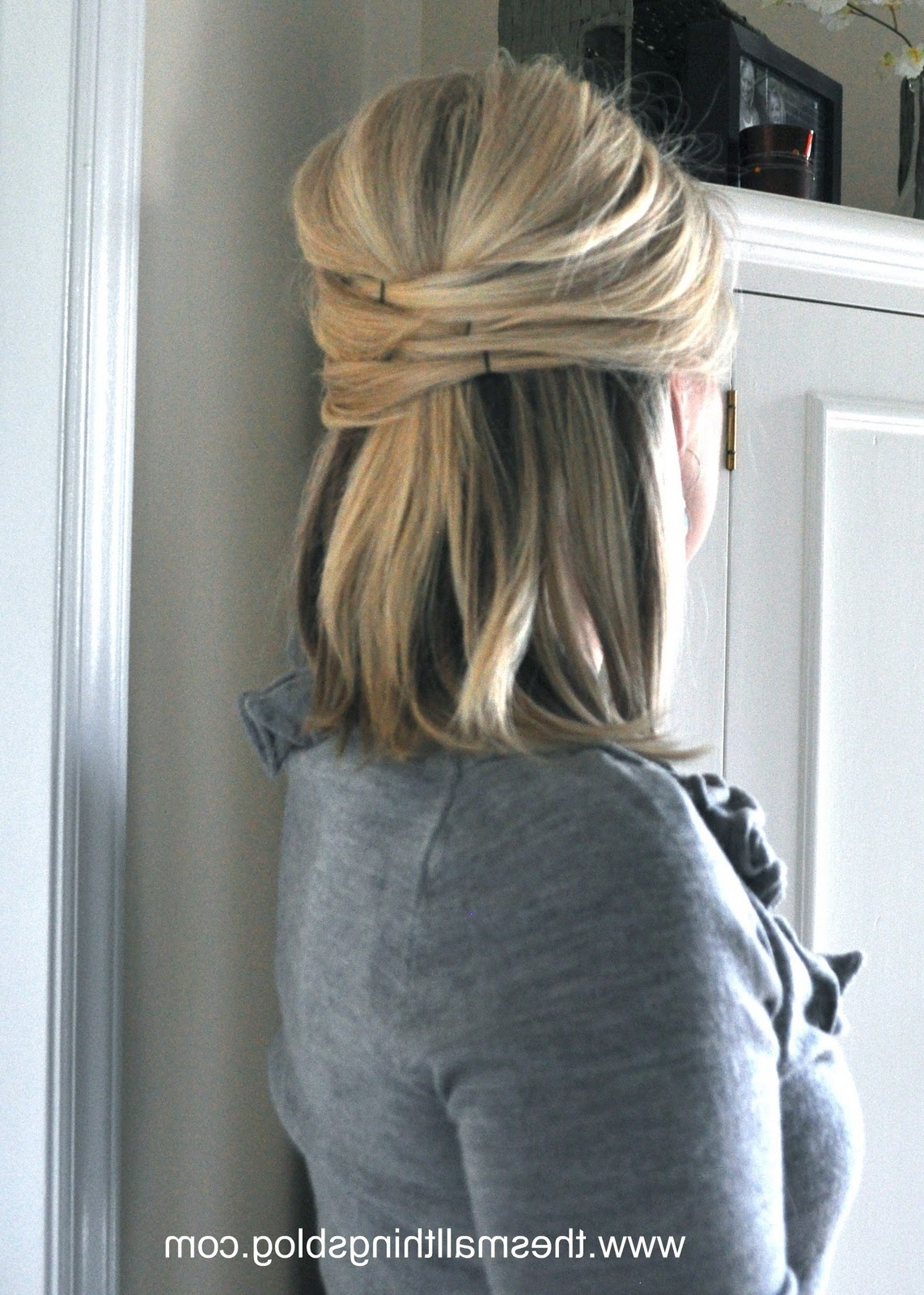 Elegant Half Up – The Small Things Blog For Elegant Half Updo Hairstyles (View 7 of 15)