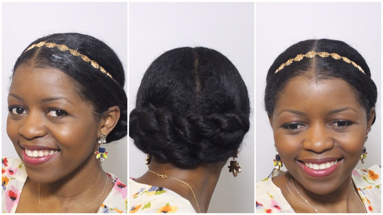 Elegant Twisted Bun Updo Perfect For Formal/wedding Occasion Pertaining To Natural Hair Wedding Updo Hairstyles (View 3 of 15)