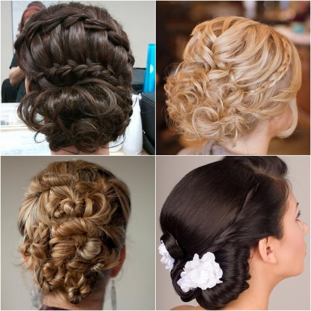 Elegant Updo #hairstyles. Share It If You Like It. :) | Hair In Fancy Updo Hairstyles (Gallery 12 of 15)