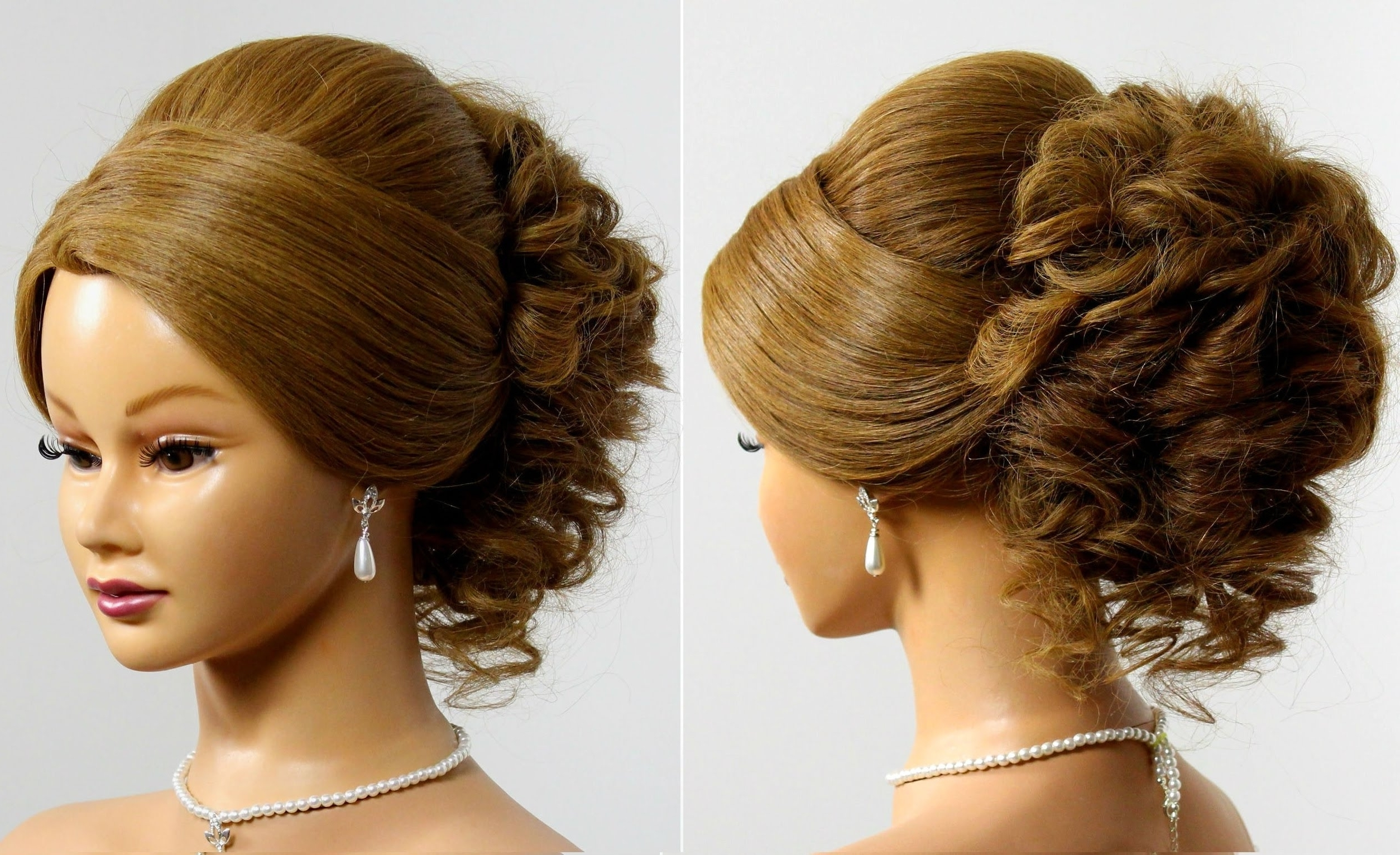Fancy Updo Hairstyles For Long Hair Updo Hairstyles For Medium Hair Intended For Fancy Updo Hairstyles For Medium Hair (View 2 of 15)