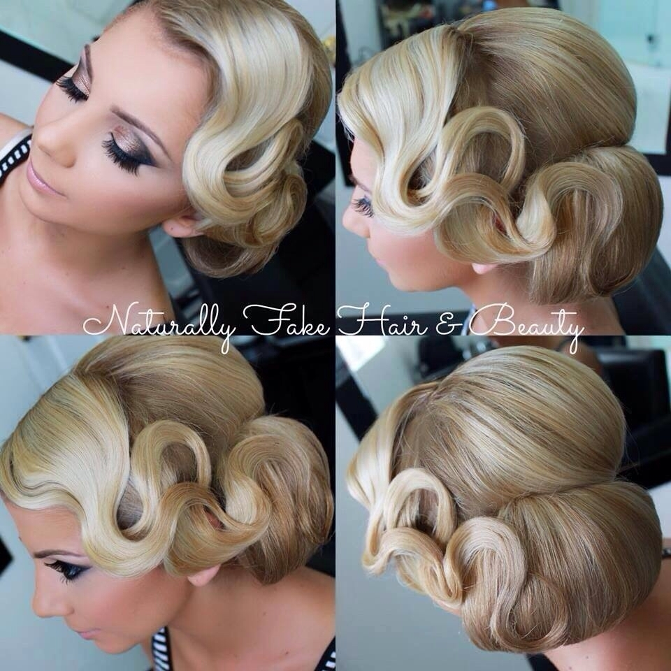 Finger Wave Updo Hairstyles – Women Hairstyle Ware Pertaining To Finger Waves Long Hair Updo Hairstyles (View 11 of 15)