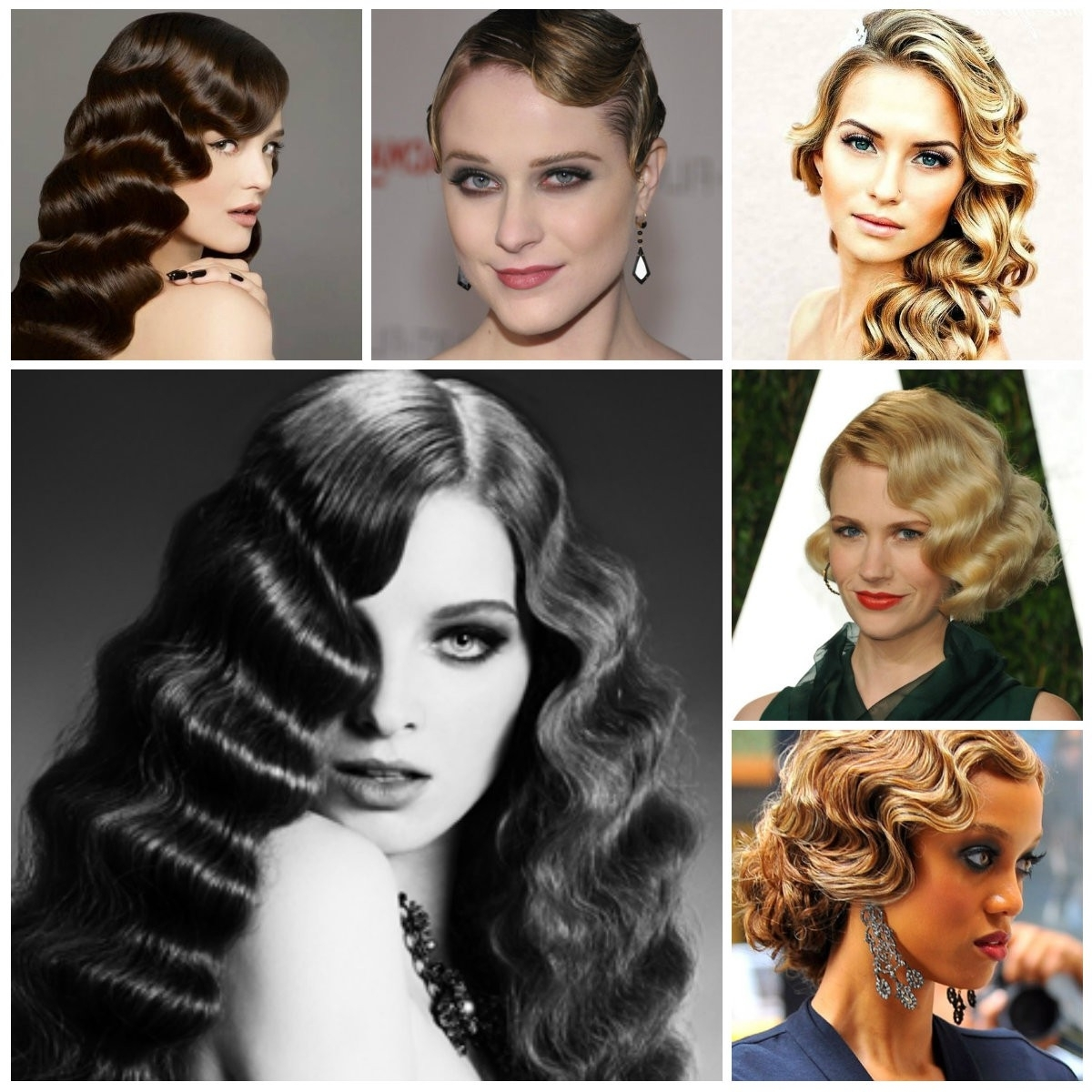 Finger Waves Long Hair Updo Archives – Hairstyles And Haircuts In 2018 Within Finger Waves Long Hair Updo Hairstyles (View 6 of 15)