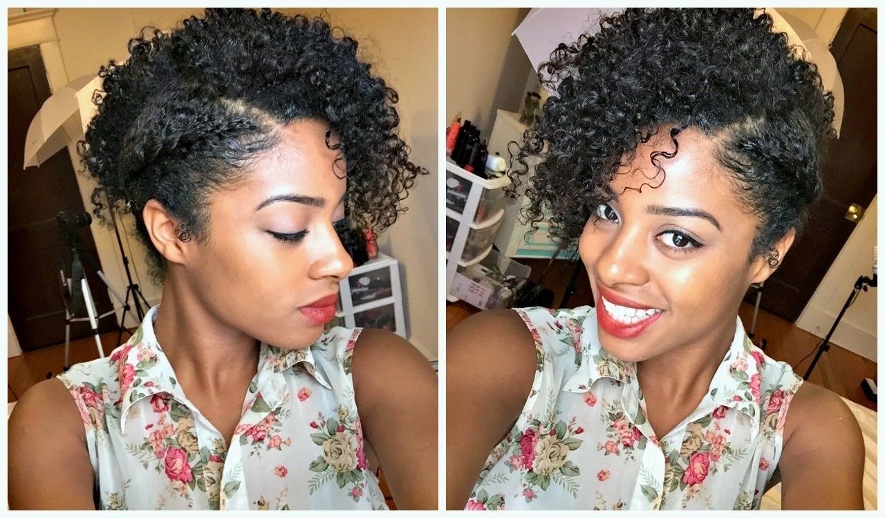 Flat Twist Out Side Updo – Youtube In Updo Twist Out Hairstyles (View 4 of 15)