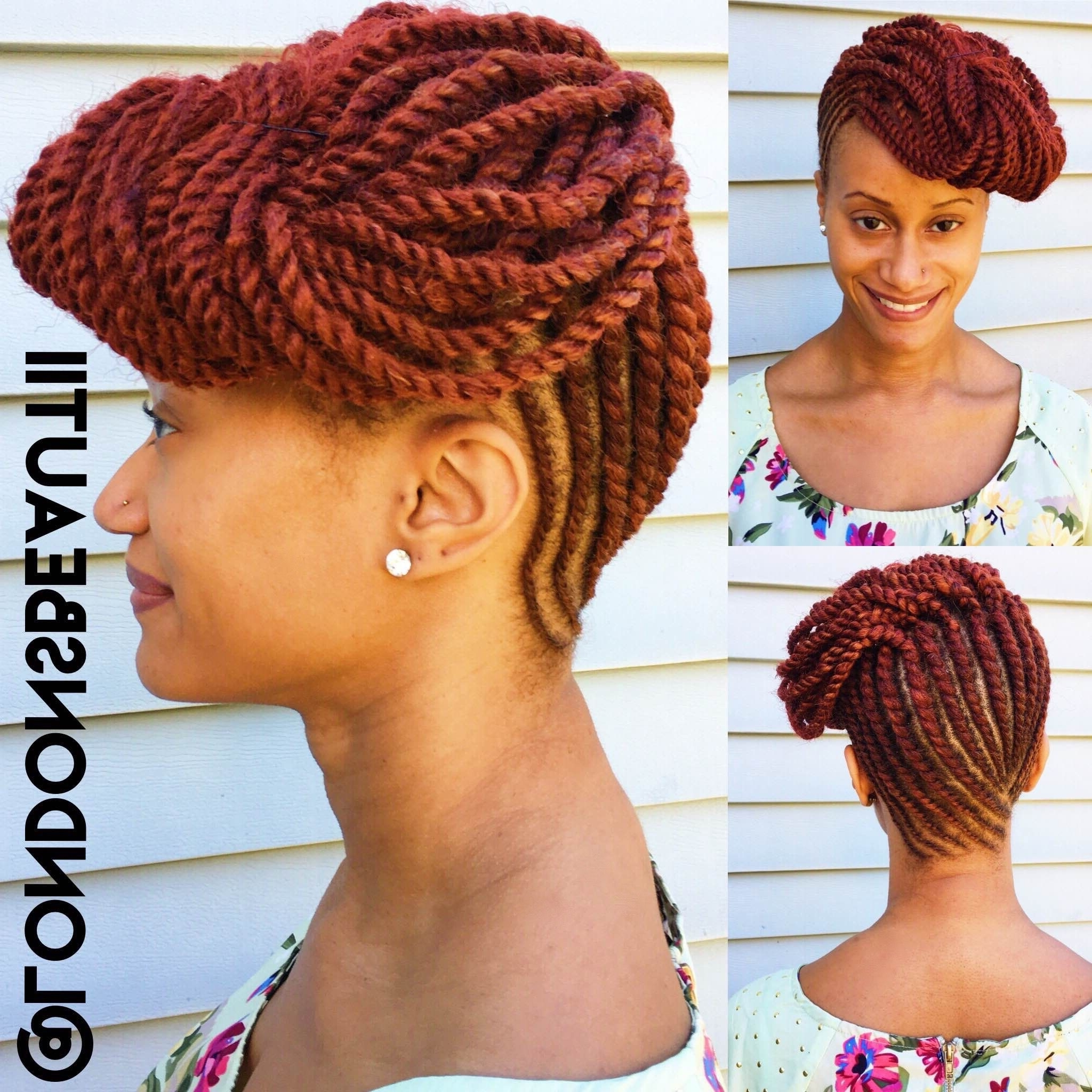 Flat Twist Updo (with Extensions) Donelondon's Beautii In Bowie Pertaining To Flat Twist Updo Hairstyles With Extensions (View 13 of 15)