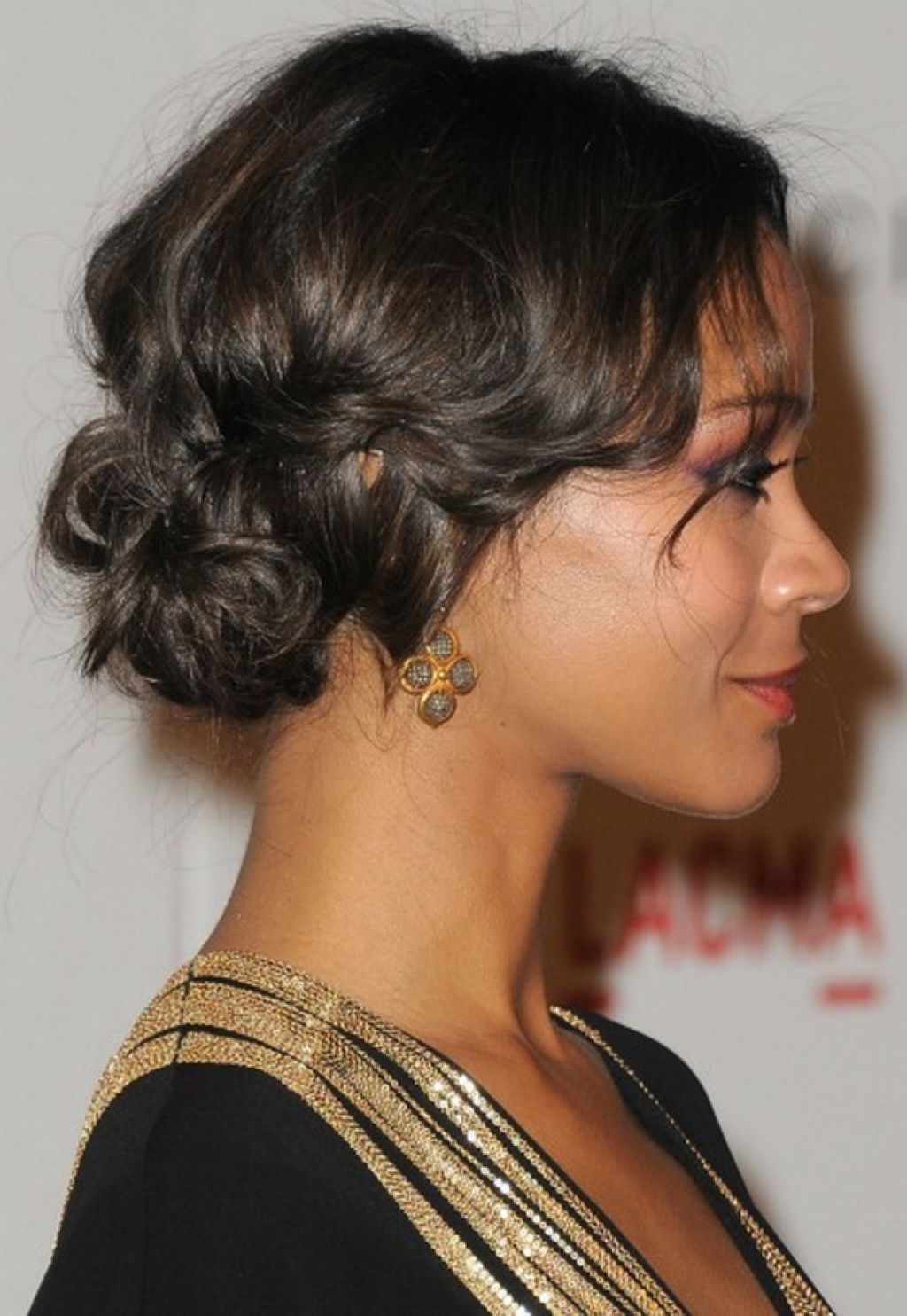 Formal Hairstyles For Black Hair Updo Hairstyles For Ethnic Hair With Regard To Ethnic Updo Hairstyles (View 15 of 15)