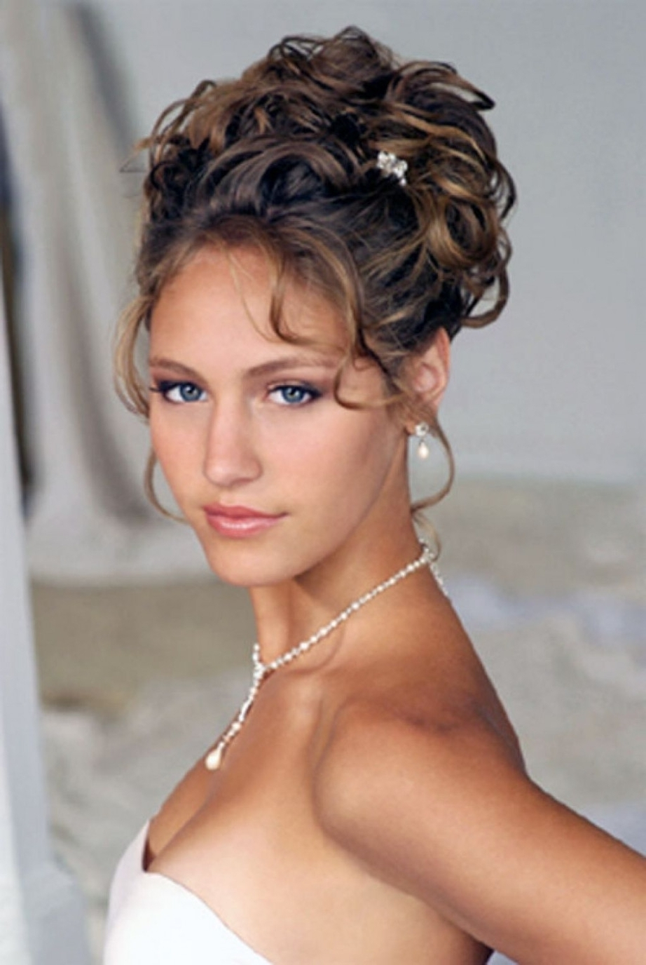 Formal Hairstyles For Medium Hair With Bangs Prom Hairstyles Updos In Updos For Layered Hair With Bangs (View 9 of 15)
