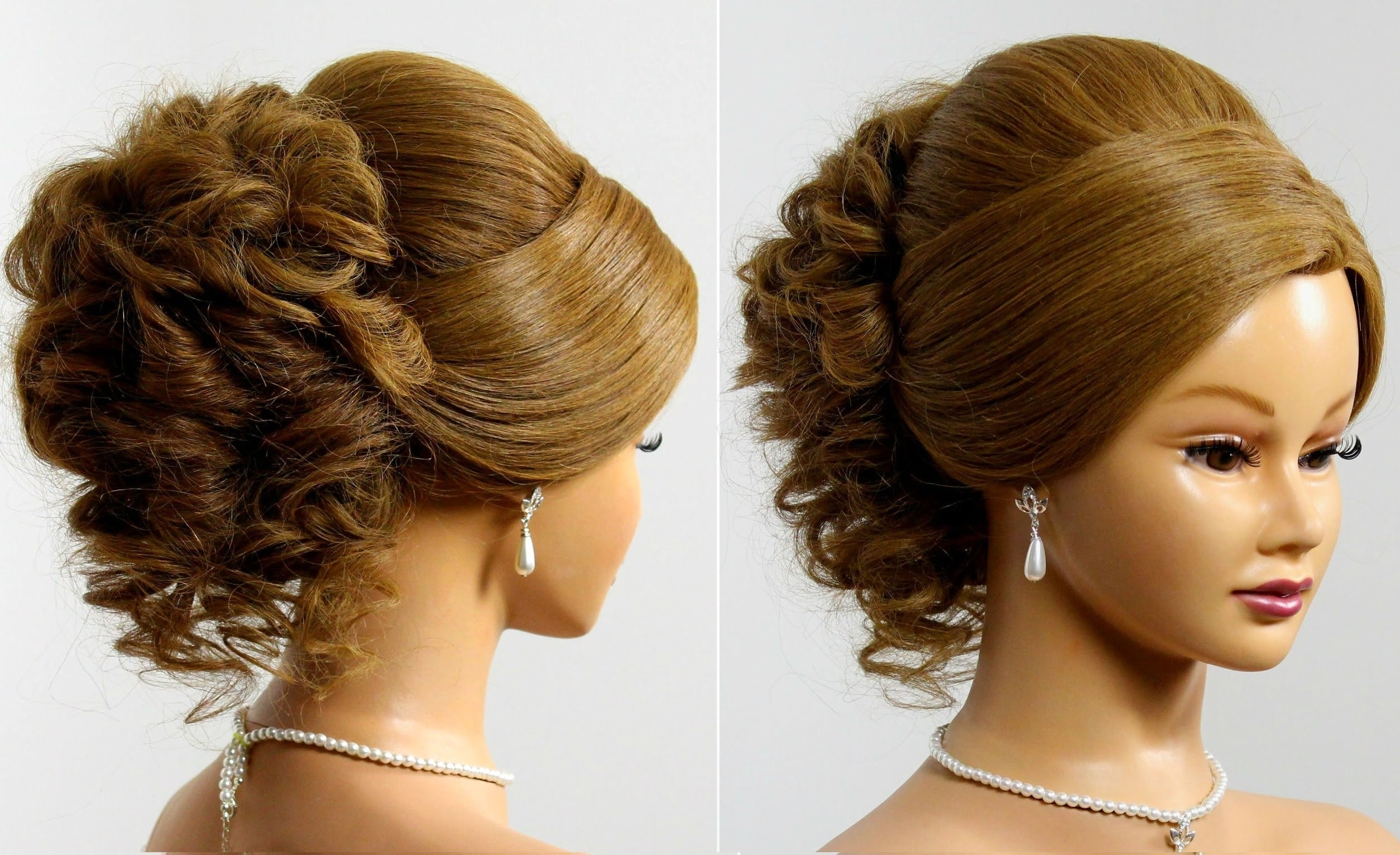 Formal Updo Hairstyles For Medium Hair Fancy Updo Hairstyles For Regarding Fancy Updo Hairstyles For Long Hair (View 14 of 15)
