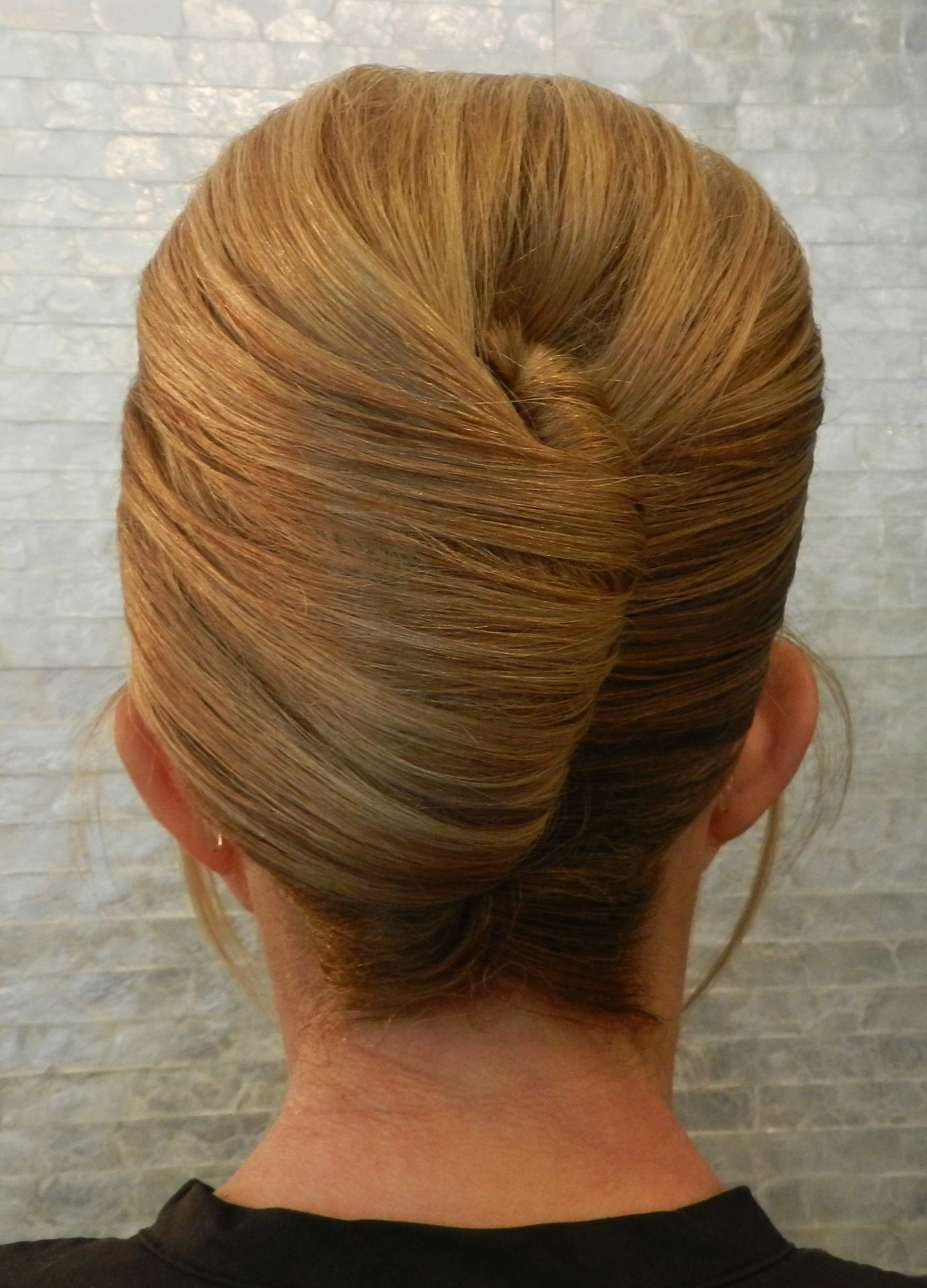 French Twist Updo With Bangs (View 11 of 15)