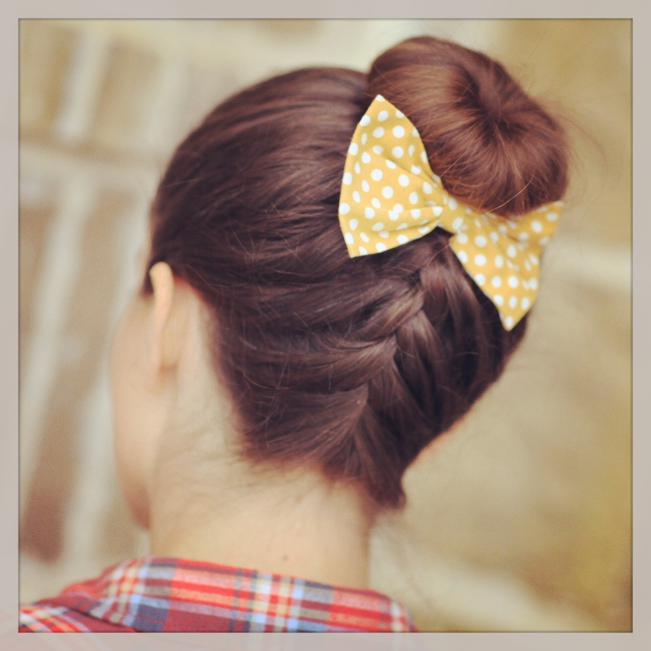 French Up High Bun | Updo Hairstyle Ideas | Cute Girls Hairstyles Pertaining To Braided Bun Updo Hairstyles (View 4 of 15)