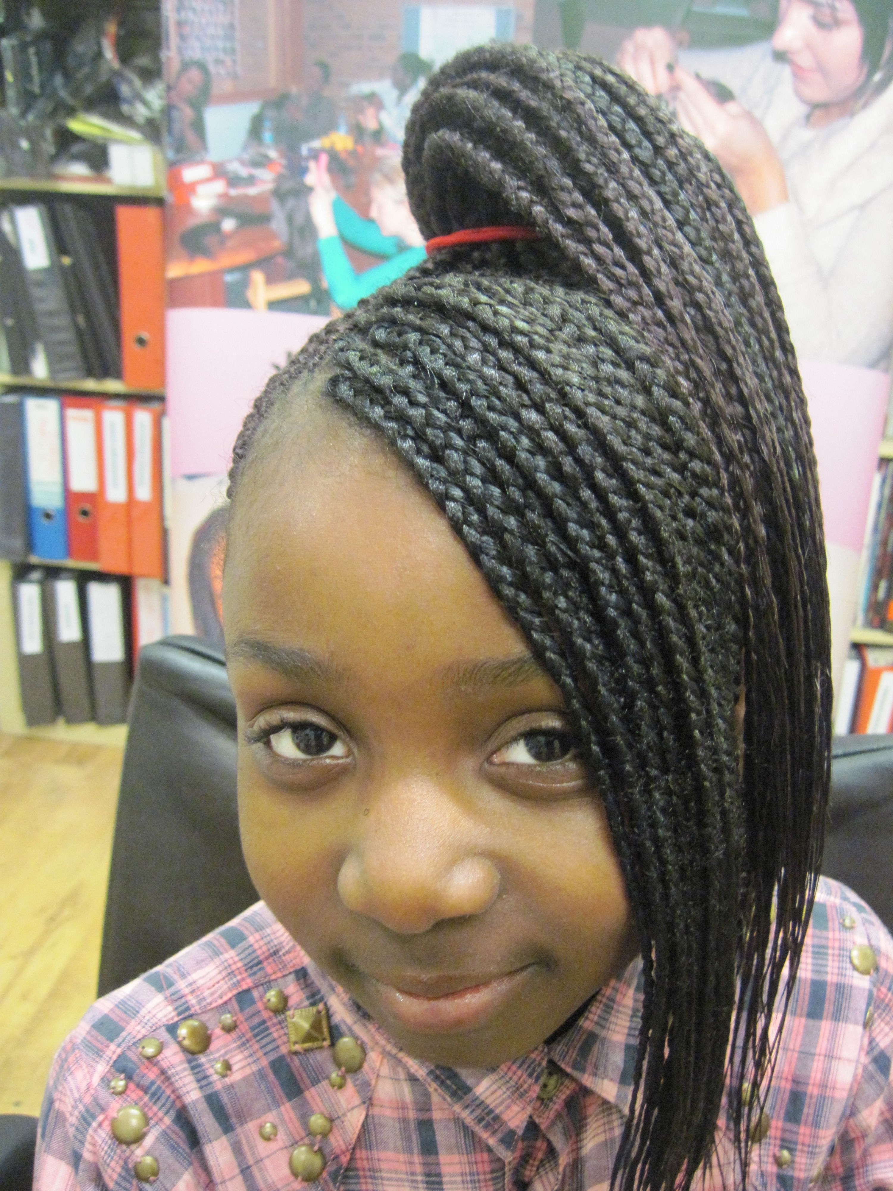 Ghana Braids | Natural Hair & Extensions Business Bootcamp | For Pertaining To Braided Updos With Extensions (View 11 of 15)