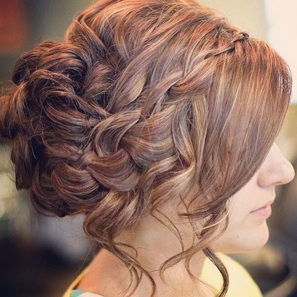 Glamorosa Y Hermosa Prom Updo Para El Pelo Largo – Http Throughout Prom Updo Hairstyles For Long Hair (View 7 of 15)