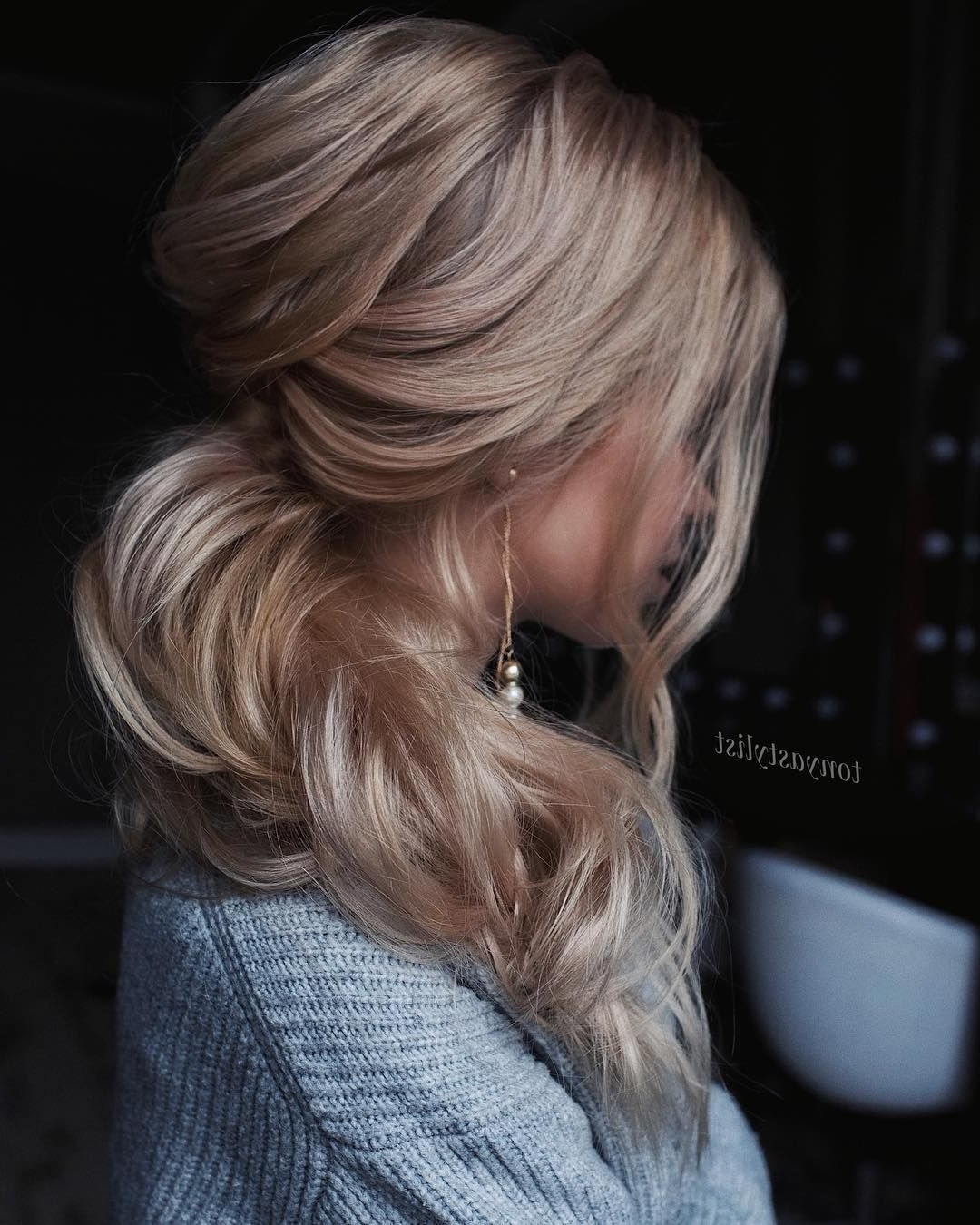 Gorgeous Ponytail Hairstyle Ideas That Will Leave You In Fab Throughout Wispy Updo Hairstyles (Gallery 8 of 15)