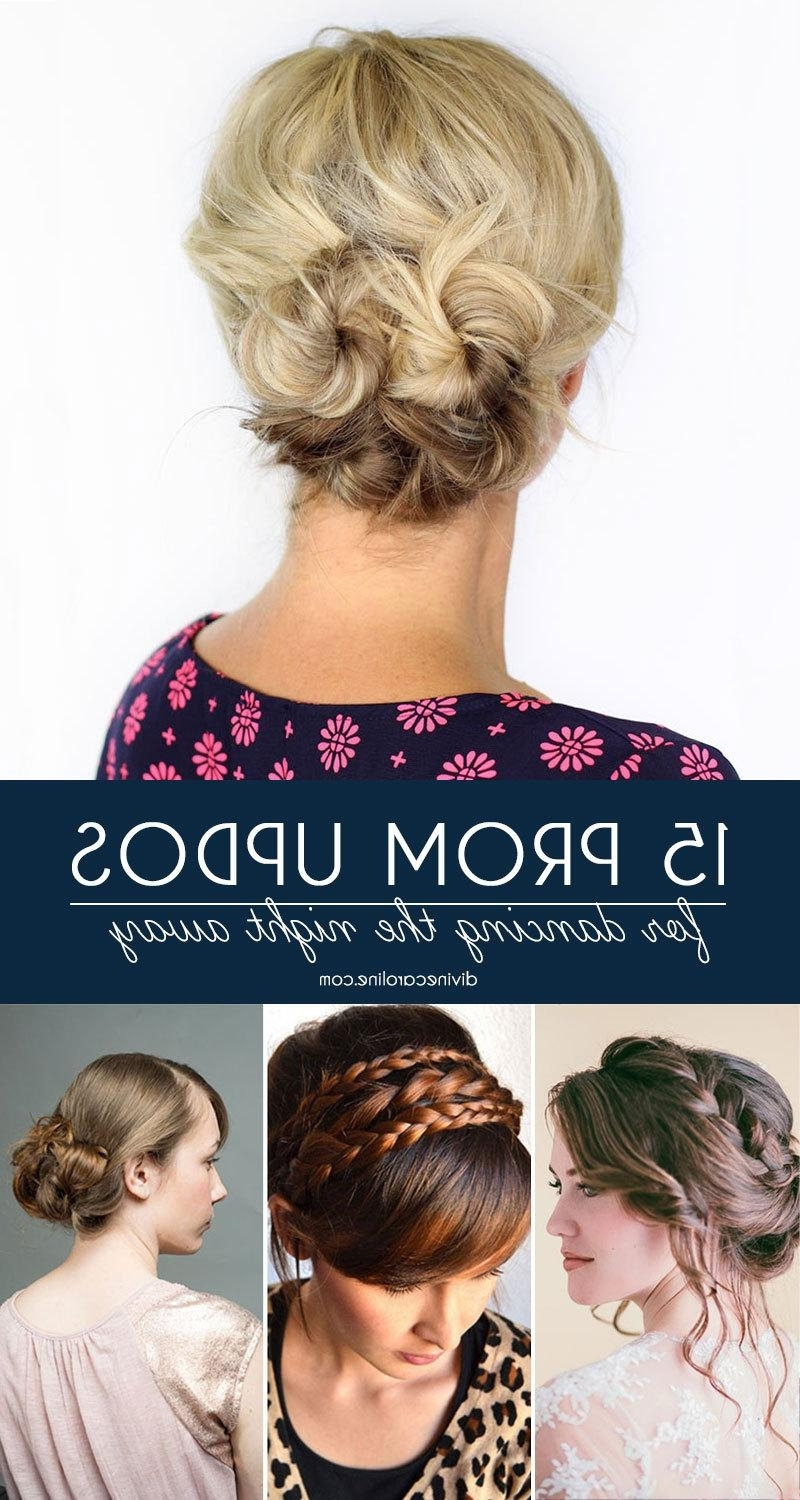Gorgeous Prom Updos For Dancing The Night Away | More Regarding Diy Updos For Curly Hair (View 9 of 15)