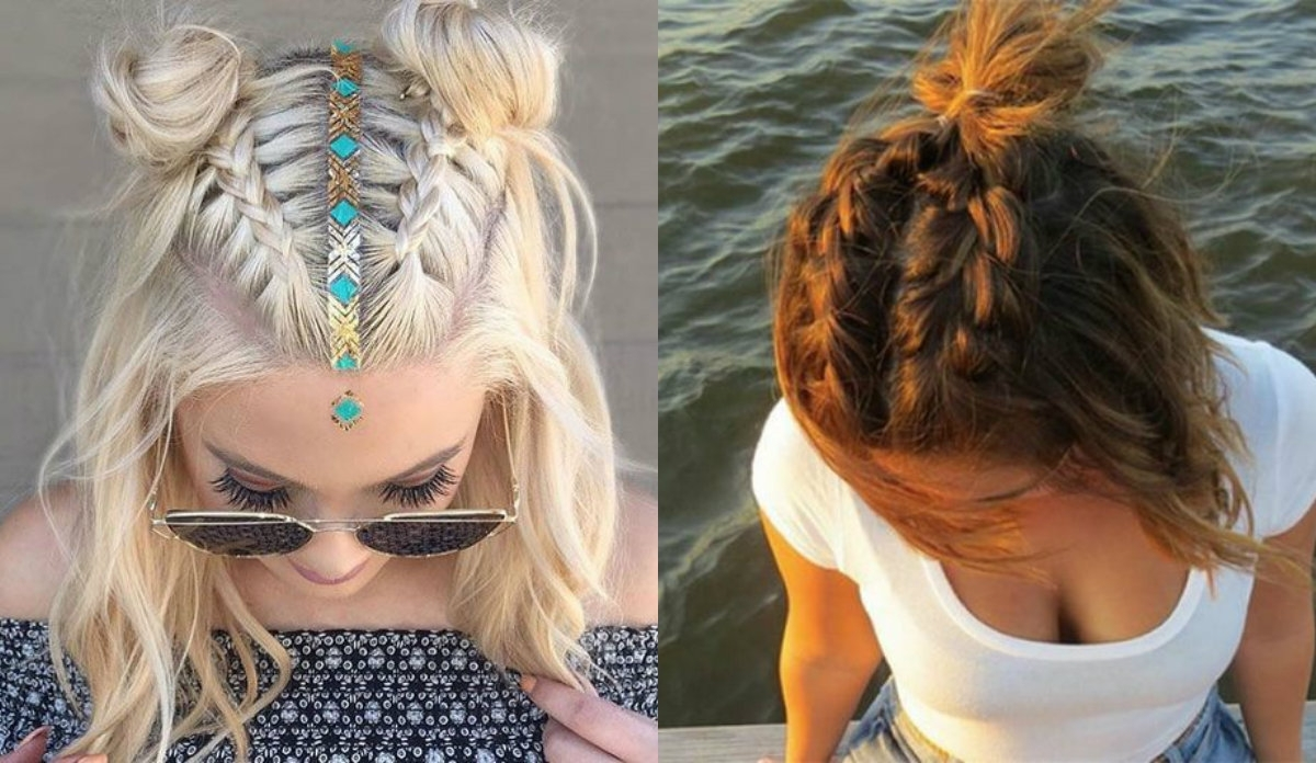 Hair Braided Half Updo Hairstyles Intended For Braided Half Updo Hairstyles (View 8 of 15)