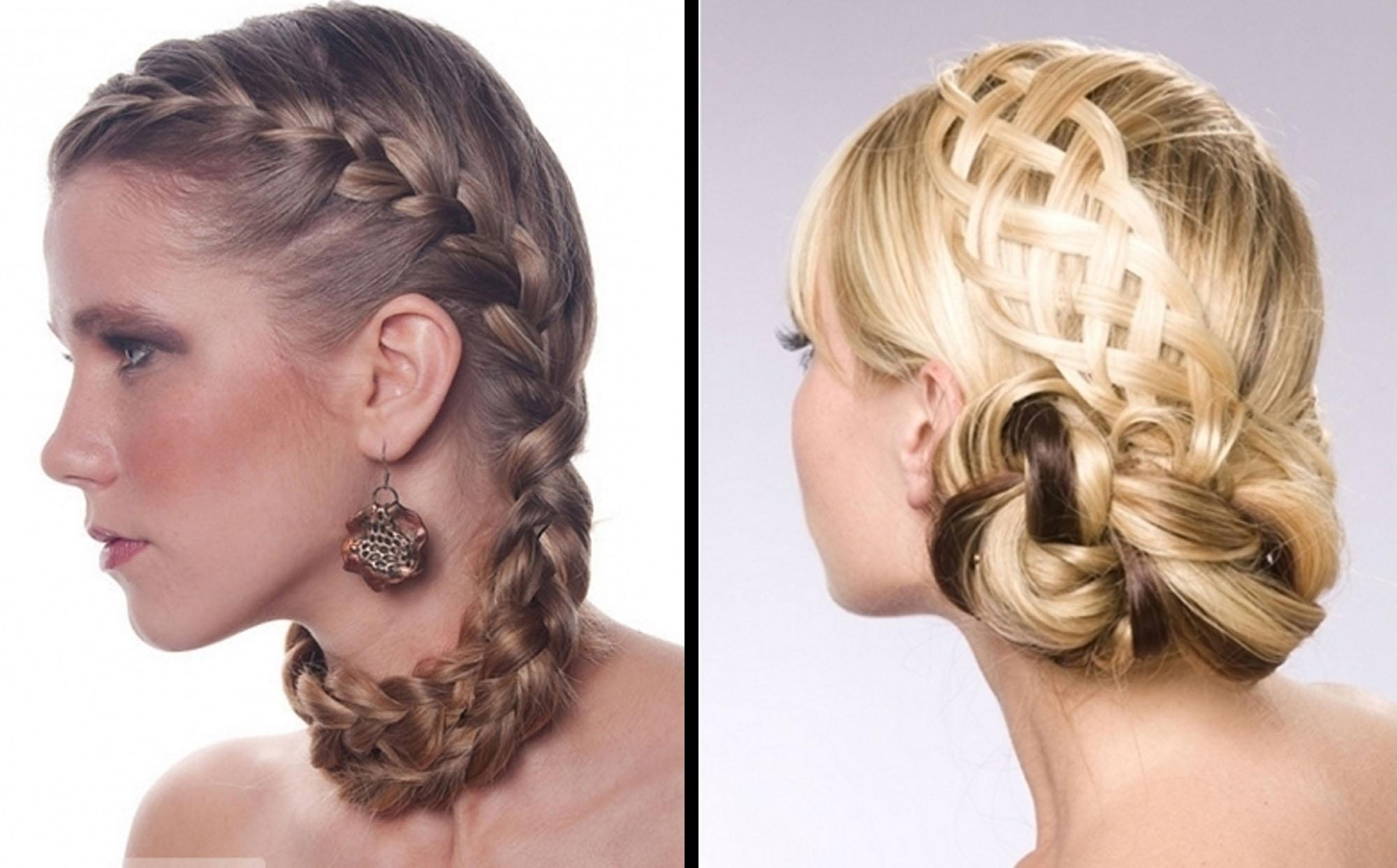 Hair Braided Updo Hairstyles Salon Formal | Medium Hair Styles Ideas With Regard To Braided Hair Updo Hairstyles (View 5 of 15)
