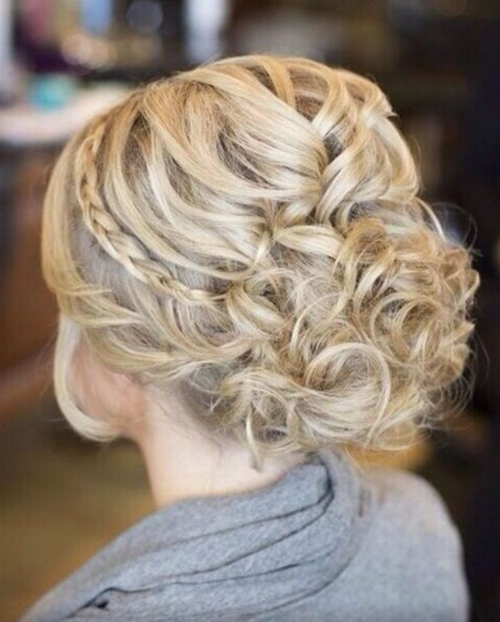 Hair Messy Braided Updo Hairstyle For Prom Within Long Formal Updo Hairstyles (View 8 of 15)