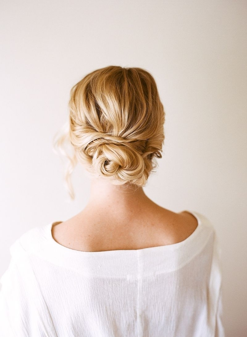 Hair Tutorial: Easy + Pretty Updo Pertaining To Updos For Thin Hair (View 10 of 15)