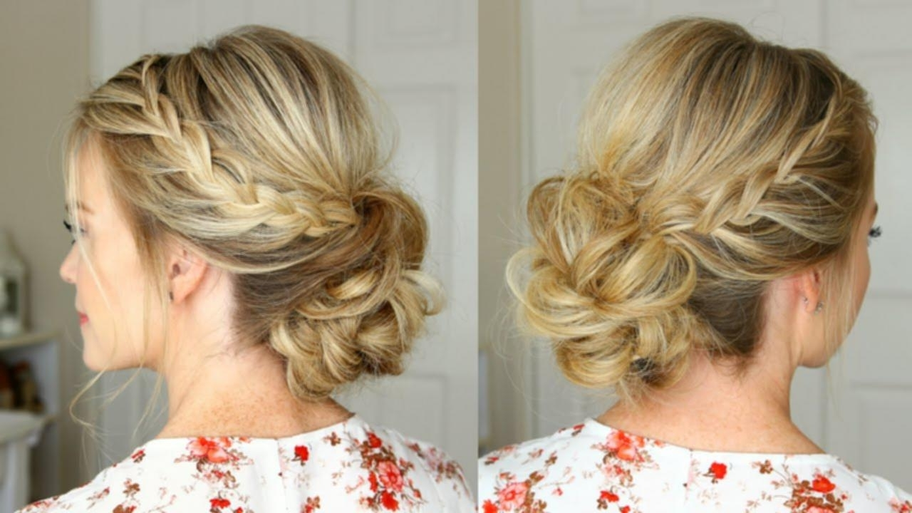 Hairdo Ideas For Shoulder Length Hair Homecoming Updos 30 With For Homecoming Updos For Medium Length Hair (View 8 of 15)