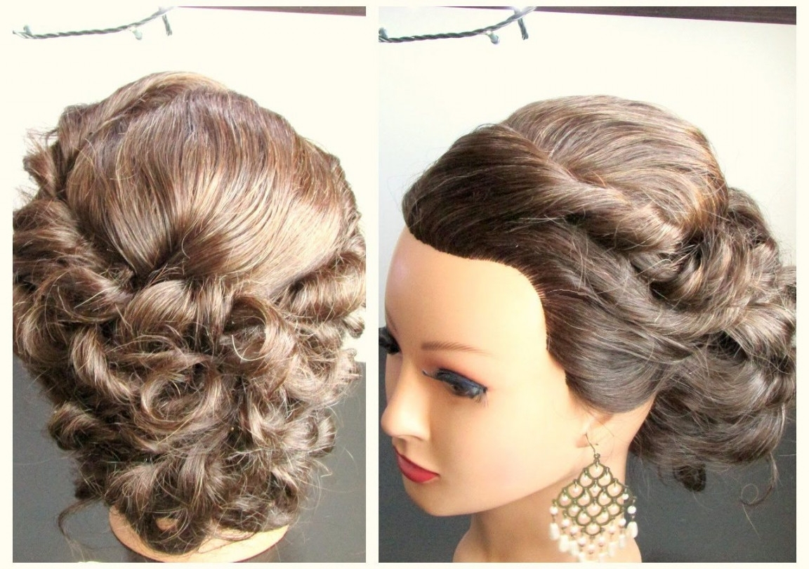 Hairstyle For Long Hair Prom Updo Impressive Hairstyles Thick Inside Homecoming Updo Hairstyles (View 6 of 15)