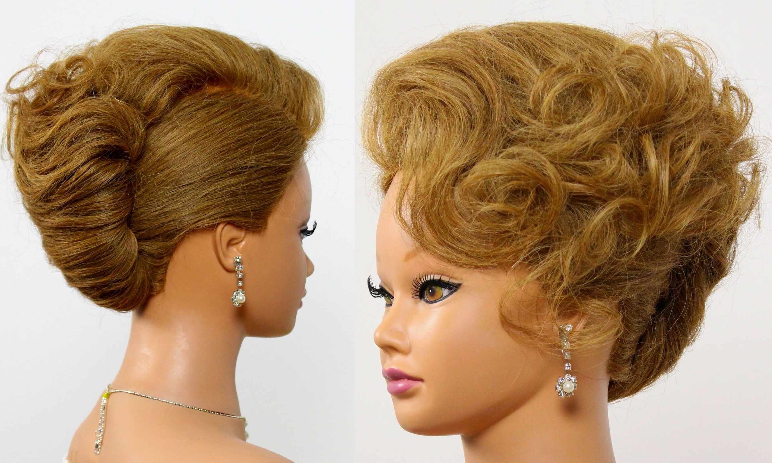 Photo Gallery Of French Twist Updo Hairstyles Viewing 5 Of 15 Photos