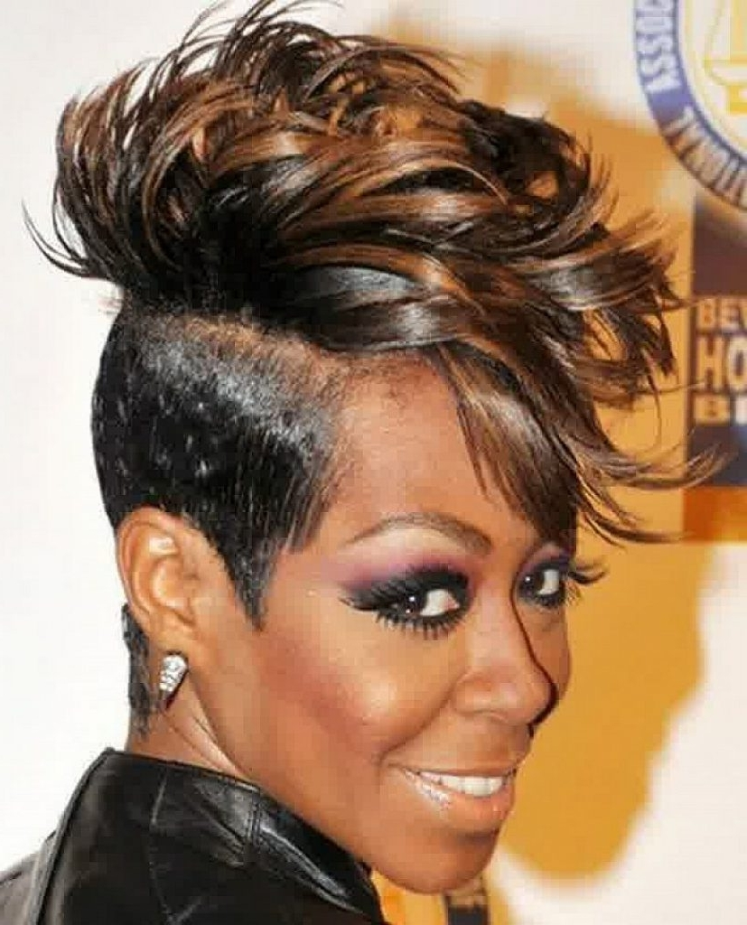 Hairstyle Ideas For Short Hair African American 85 With Hairstyle With Updos For Short Hair For African American (View 8 of 15)