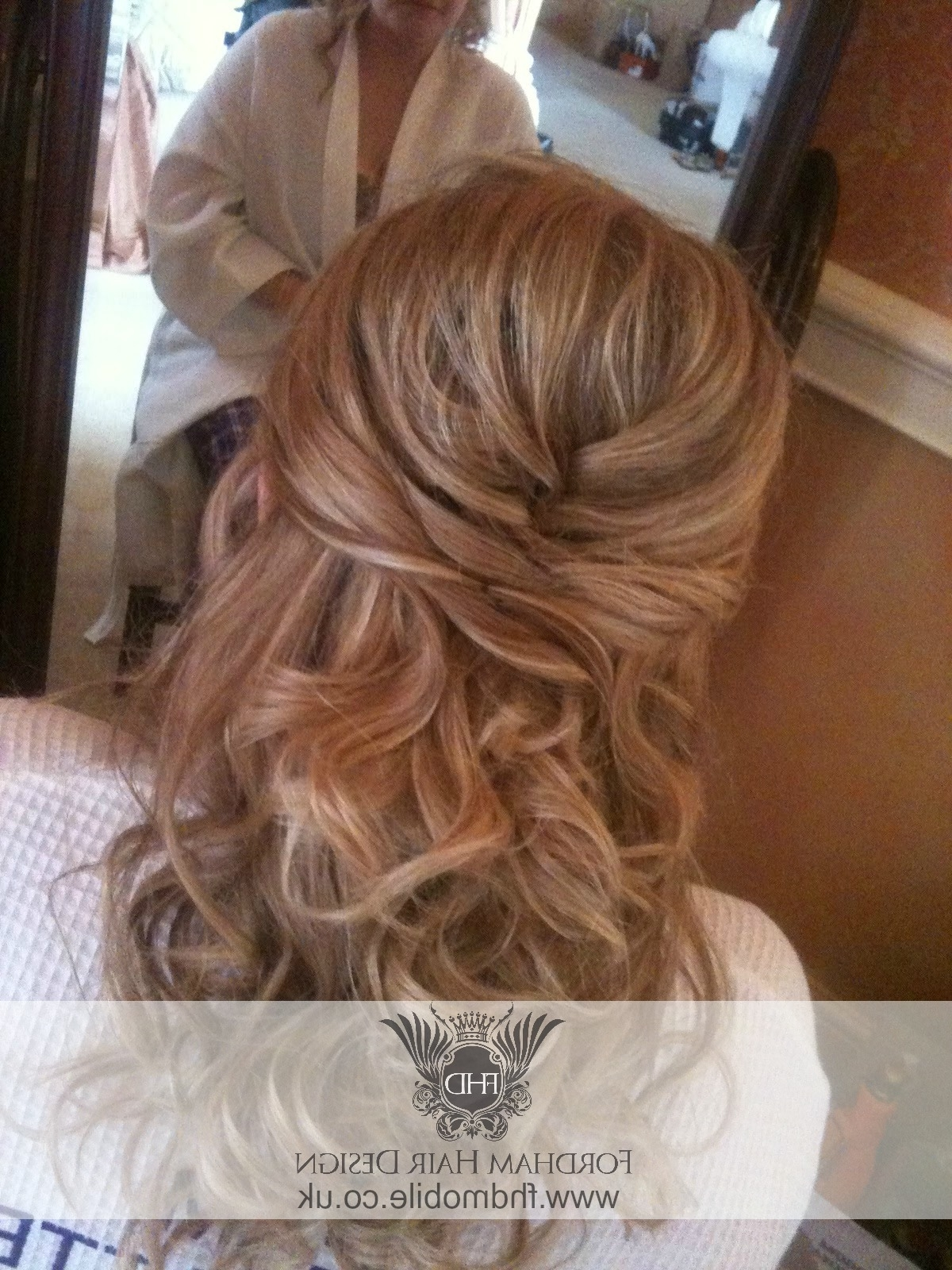 Hairstyles For Mother Of The Bride With Long Hair | Justswimfl Pertaining To Half Updos For Mother Of The Bride (View 3 of 15)